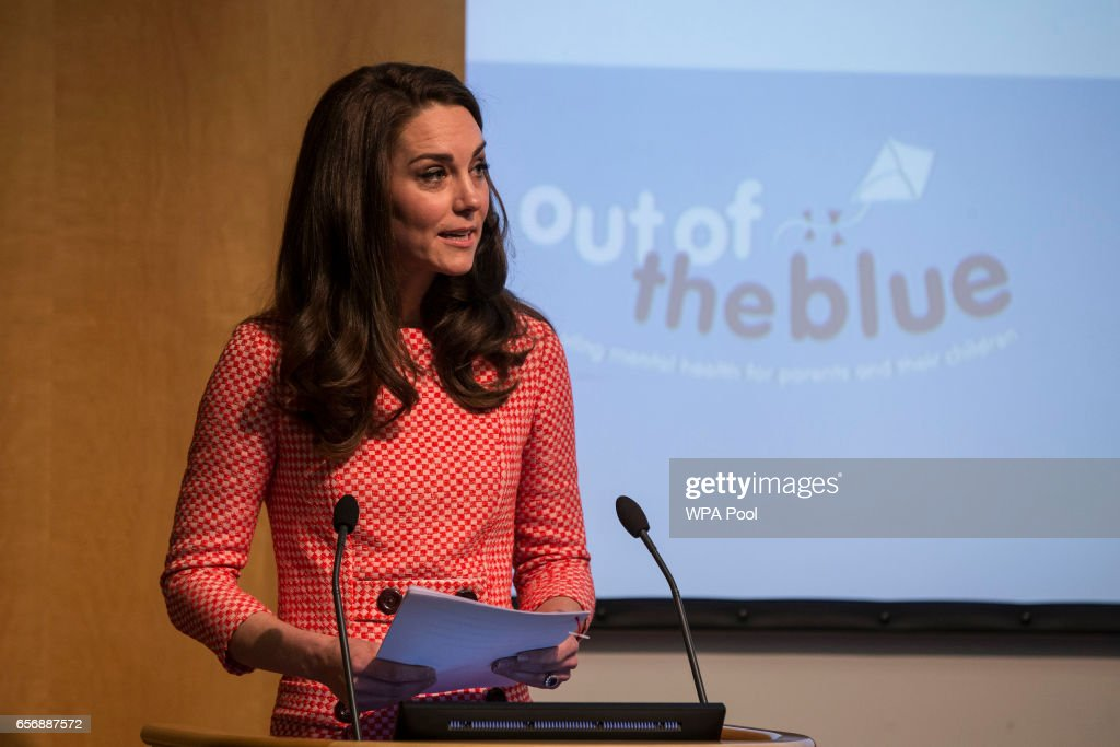 The Duchess Of Cambridge Attends Launch Of Maternal Mental Health Films With Best Beginnings And Heads Together : News Photo