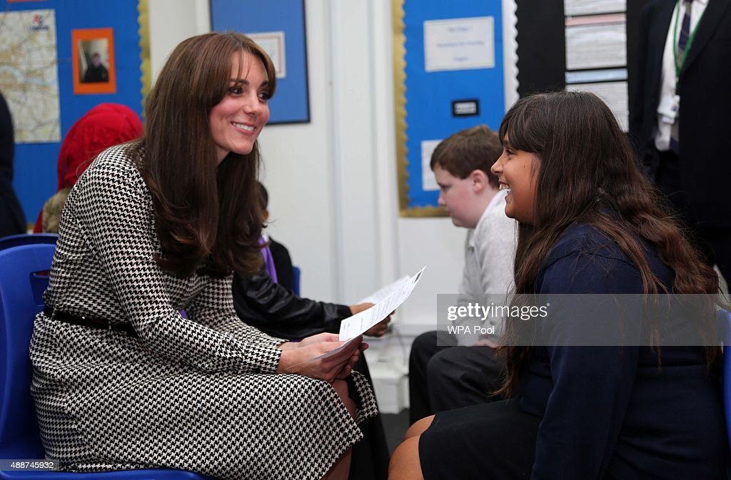 The Duchess Of Cambridge Visits The Anna Freud Centre : News Photo