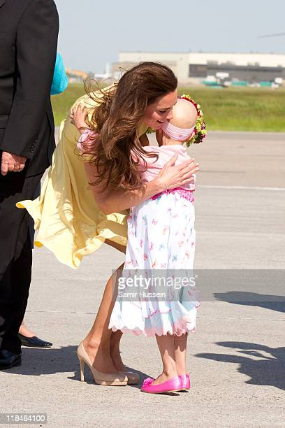 The Duke And Duchess Of Cambridge Canadian Tour Day 6