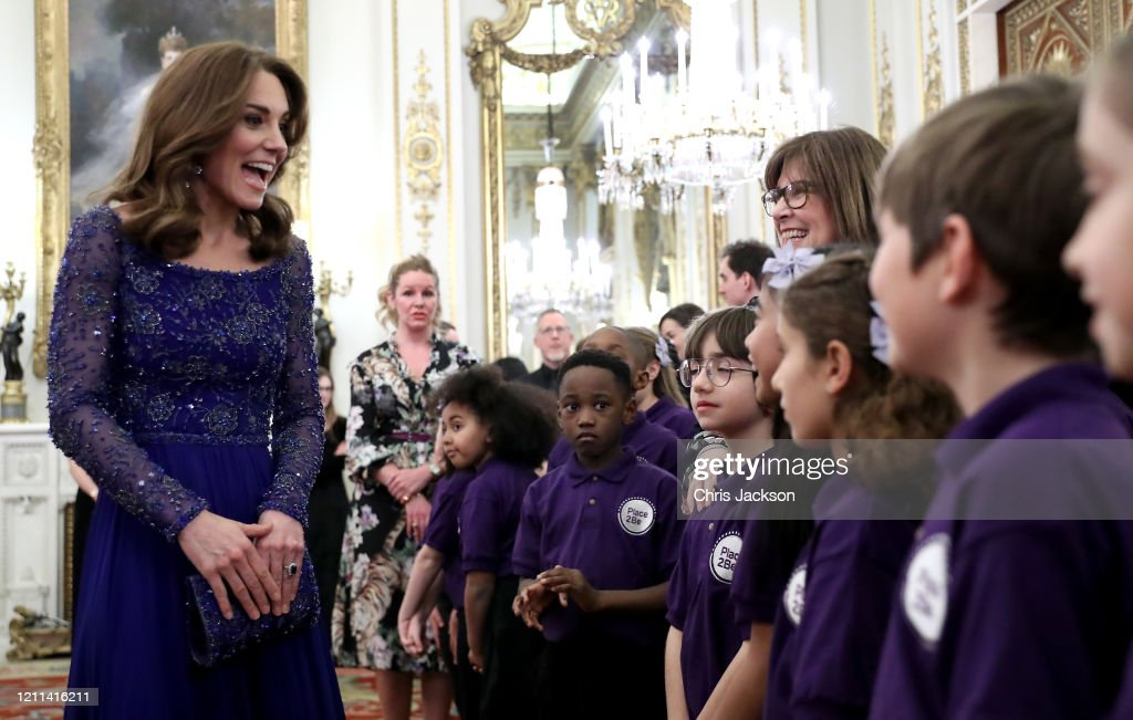 The Duchess Of Cambridge Hosts Gala Dinner For The 25th Anniversary Of Place2Be : News Photo