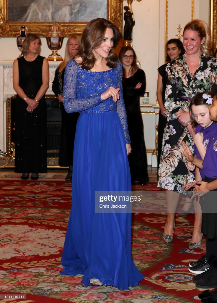 The Duchess Of Cambridge Hosts Gala Dinner For The 25th Anniversary Of Place2Be : Foto di attualità