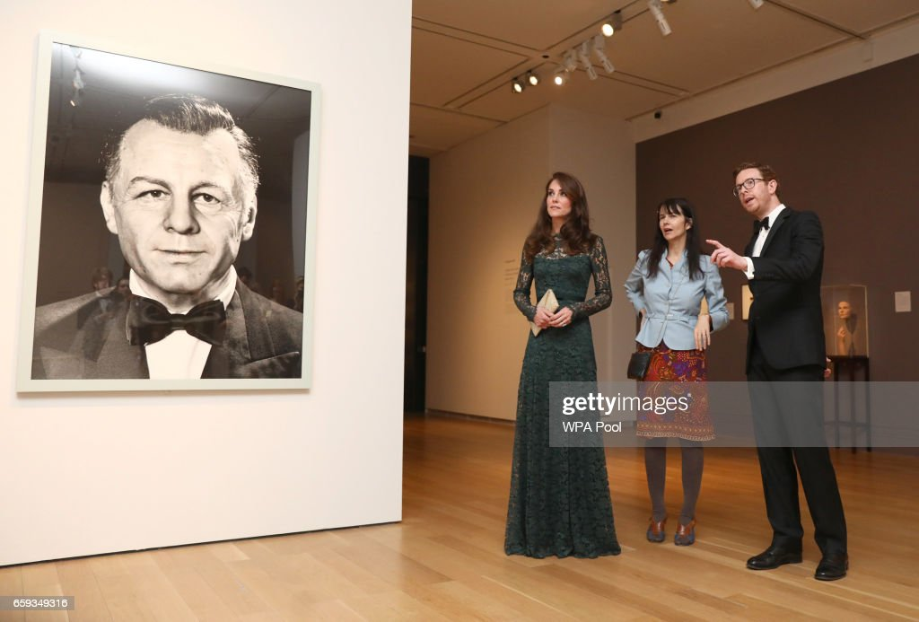 The Duchess Of Cambridge Attends The Portrait Gala 2017 : News Photo