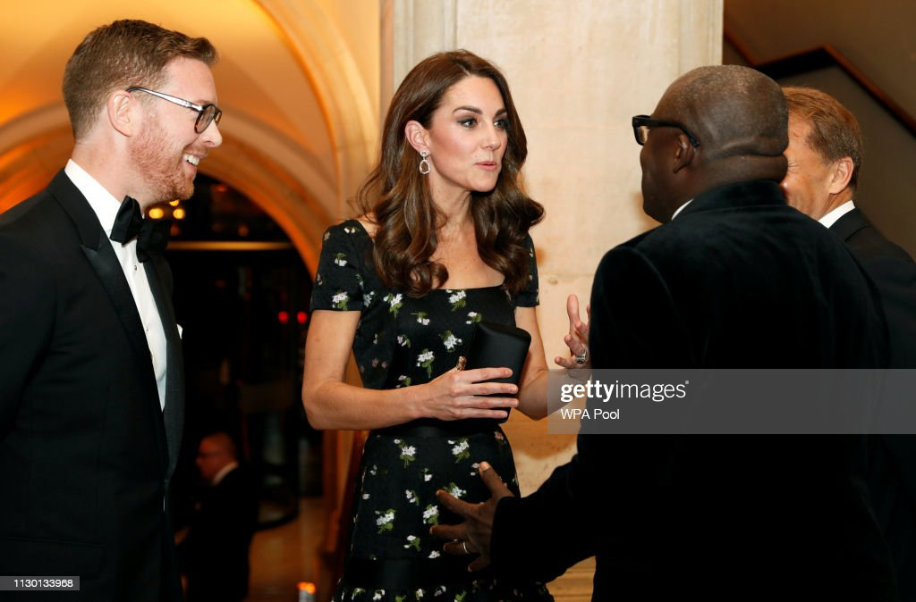The Duchess Of Cambridge Attends The Portrait Gala 2019 : News Photo