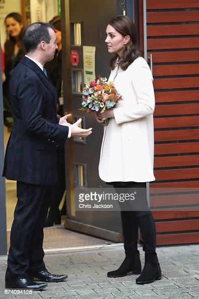 Catherine, Duchess Of Cambridge Speaks With Family Action