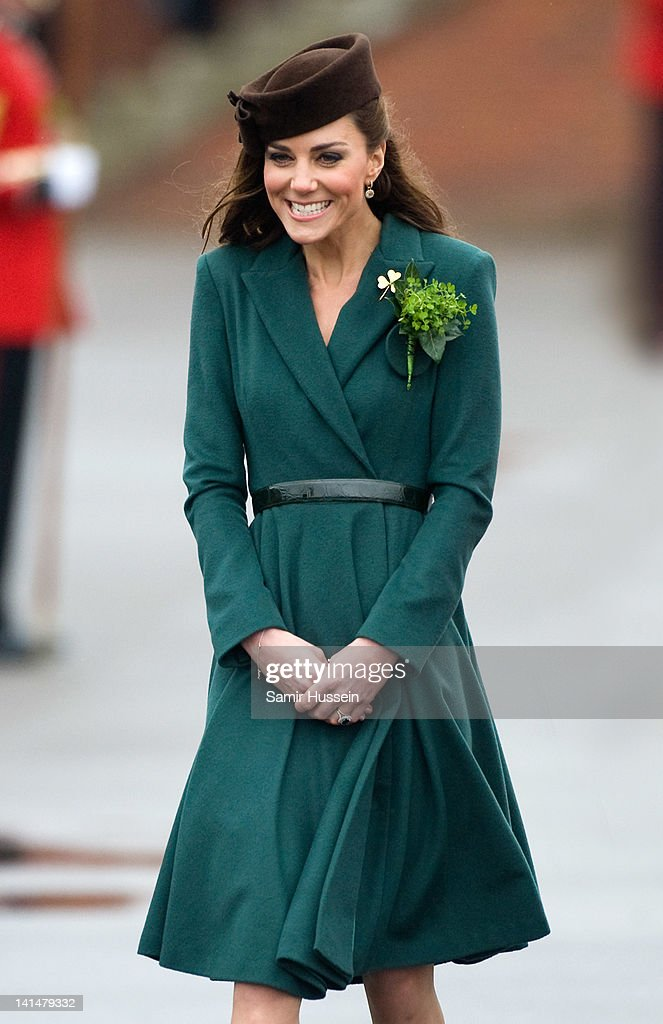 Catherine, Duchess of Cambridge Visits Aldershot Army Barracks : News Photo