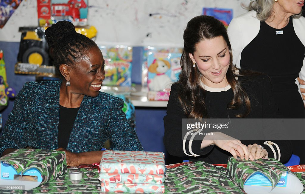 The Duchess Of Cambridge And First Lady Of New York City Visit Northside Center For Child Development : News Photo