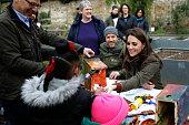 london england catherine duchess cambridge talks