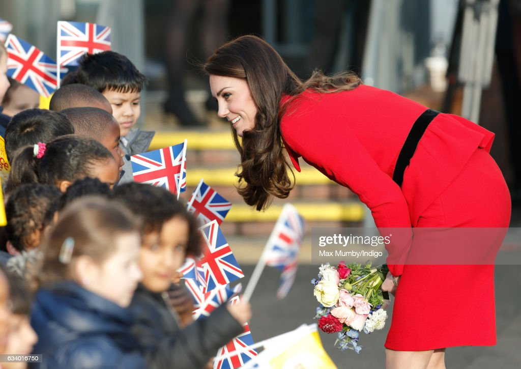 The Duke & Duchess Of Cambridge Attend Place2Be Big Assembly With Heads Together For Children's Mental Health Week : News Photo