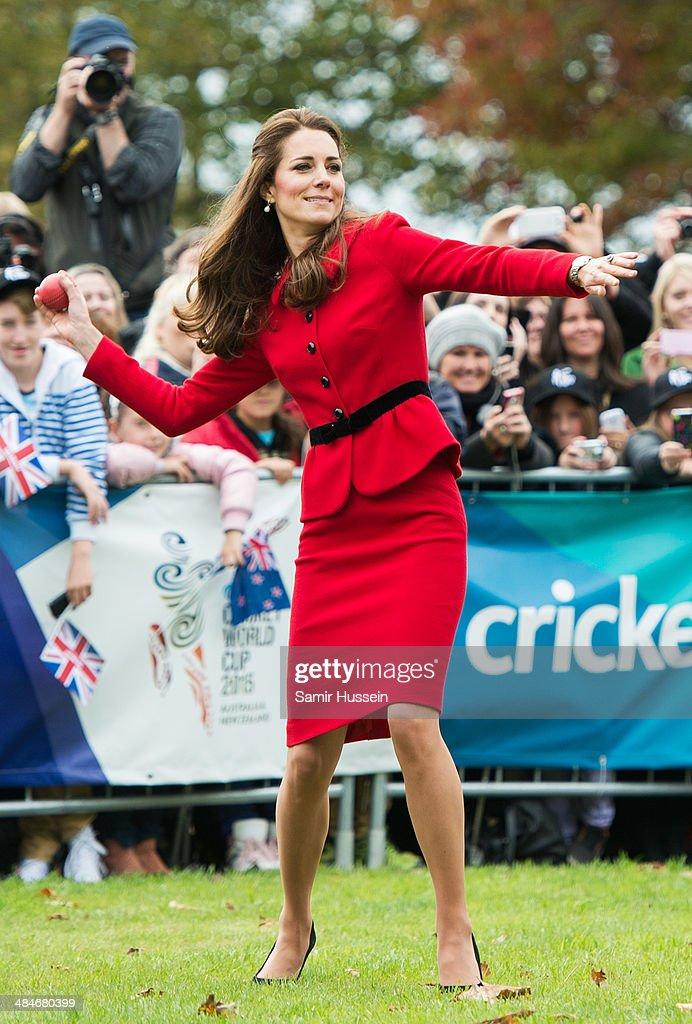 The Duke And Duchess Of Cambridge Tour Australia And New Zealand - Day 8 : News Photo