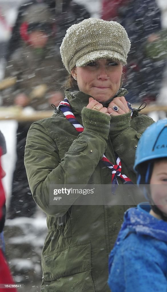 BRITAIN-ROYALS-SCOUTS : News Photo
