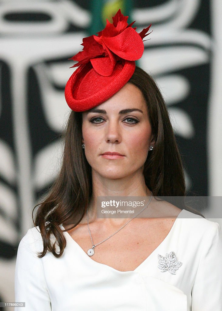 Catherine, Duchess of Cambridge visit the Canadian Museum of Civilization to attend a citizenship ceremony on July 1, 2011 in Gatineau, Canada.