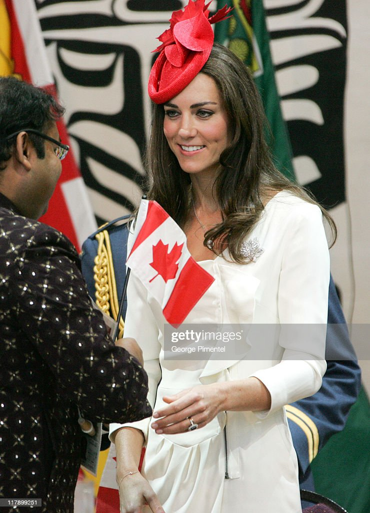 The Duke And Dutchess Of Cambridge North American Royal Visit - Day 2 : News Photo