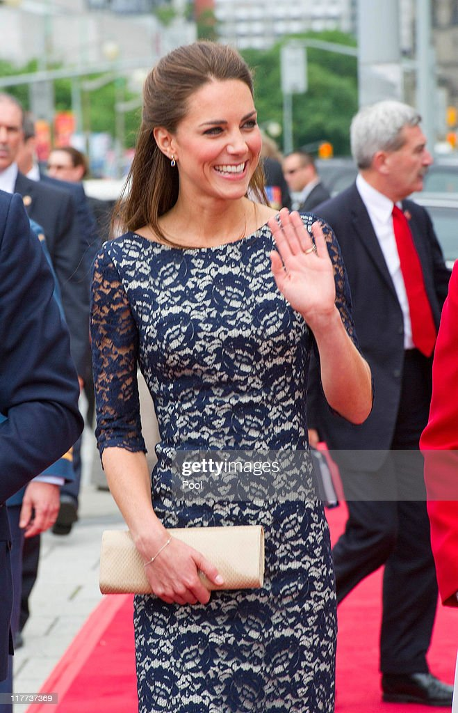 The Duke And Duchess Of Cambridge Canadian Tour - Day 1 : News Photo