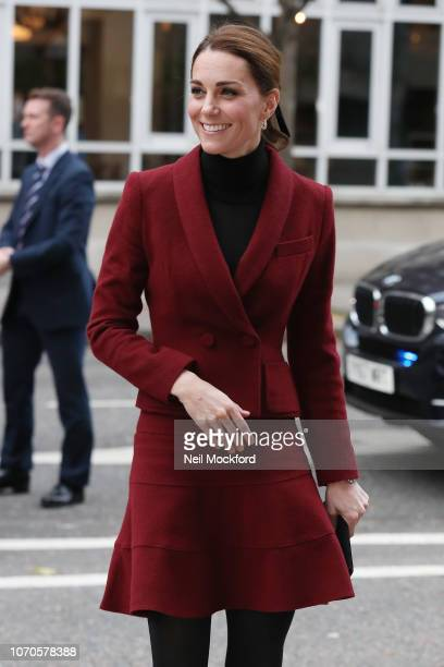 Catherine Duchess of Cambridge visits a UCL Developmental Neuroscience Lab at UCL London on November 21 2018 in London England
