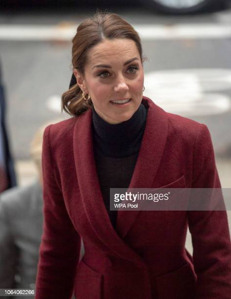 Catherine Duchess of Cambridge visits a UCL Developmental Neuroscience Lab on November 21 2018 in London England
