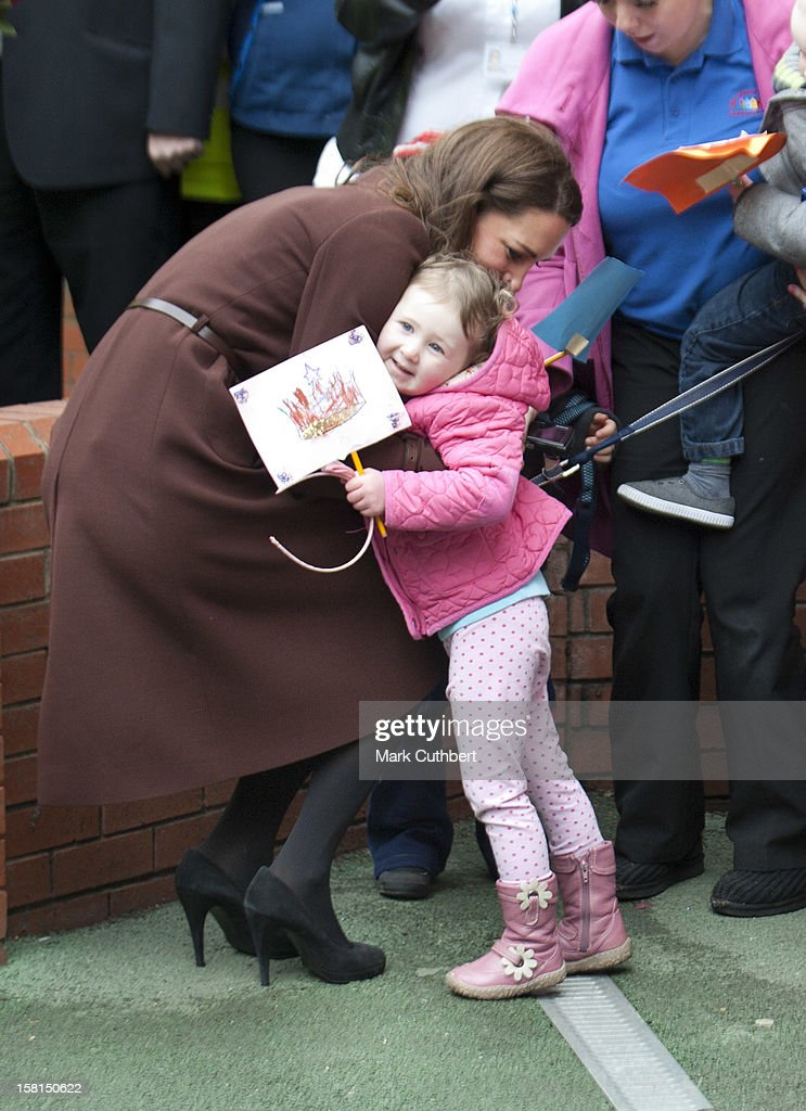 Duchess Of Cambridge Visits Liverpool : News Photo