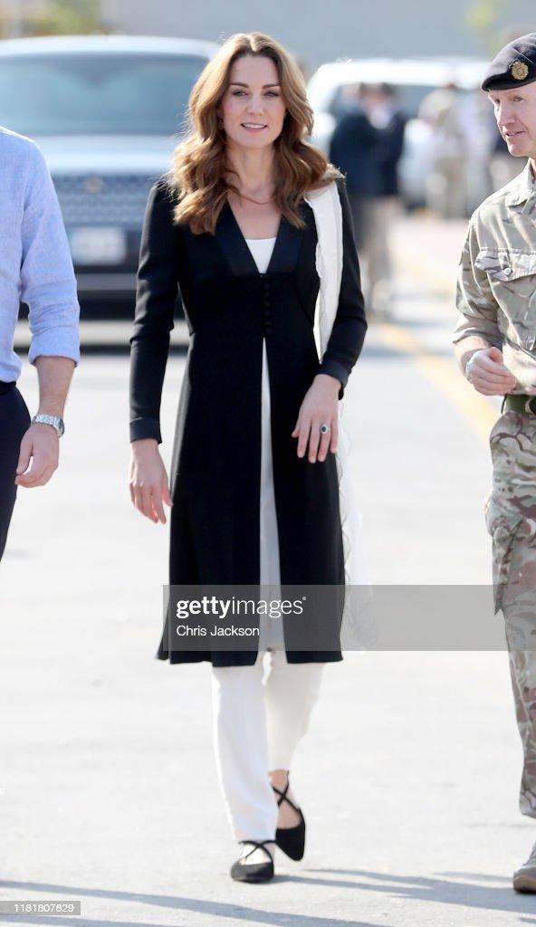 The Duke And Duchess Of Cambridge Visit Islamabad And West Pakistan : News Photo