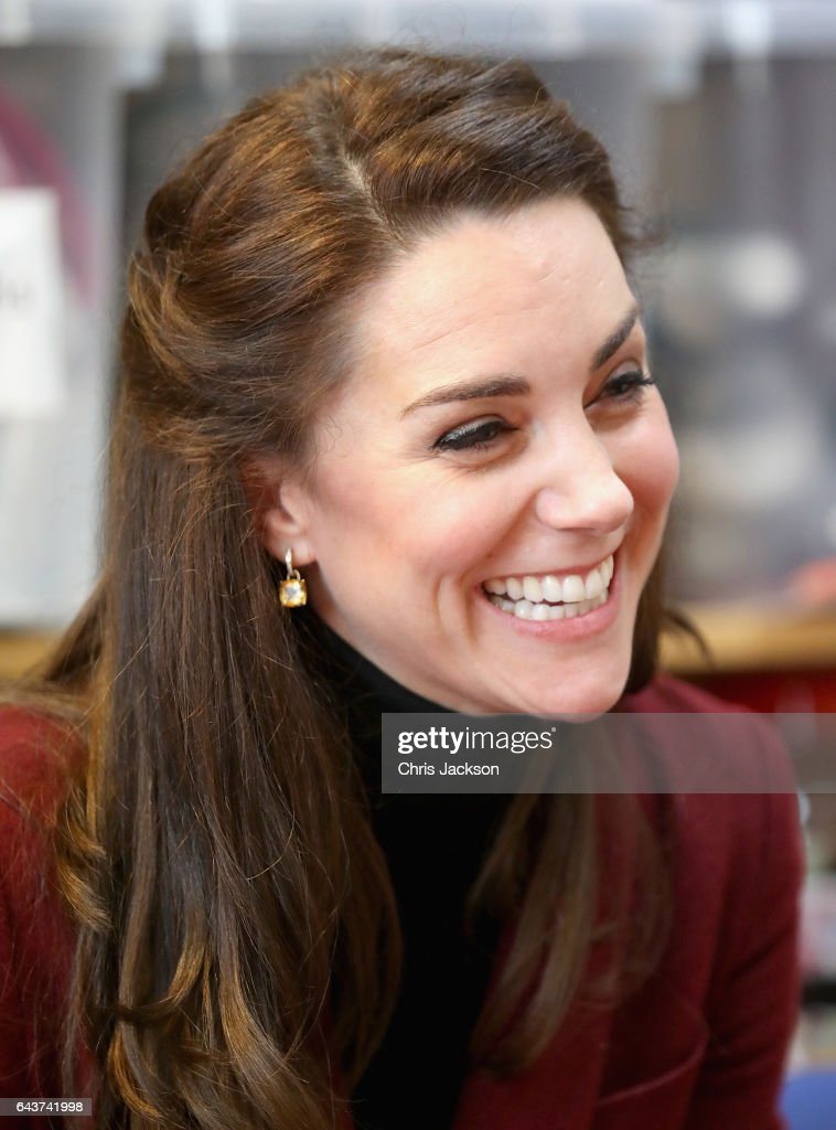 The Duchess Of Cambridge Visits Action For Children In Wales : News Photo