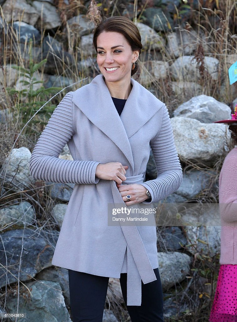 2016 Royal Tour To Canada Of The Duke And Duchess Of Cambridge - Whitehorse And Carcross, Yukon : News Photo