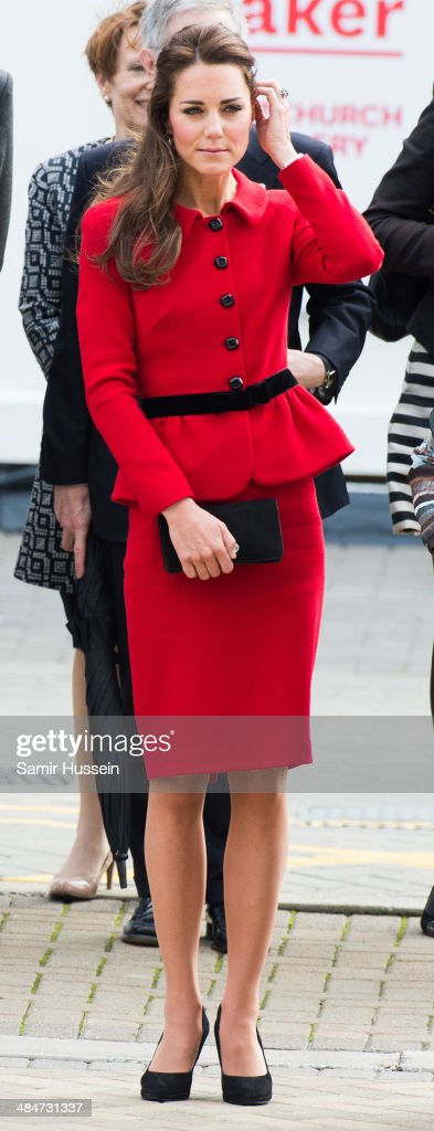 The Duke And Duchess Of Cambridge Tour Australia And New Zealand - Day 8 : News Photo