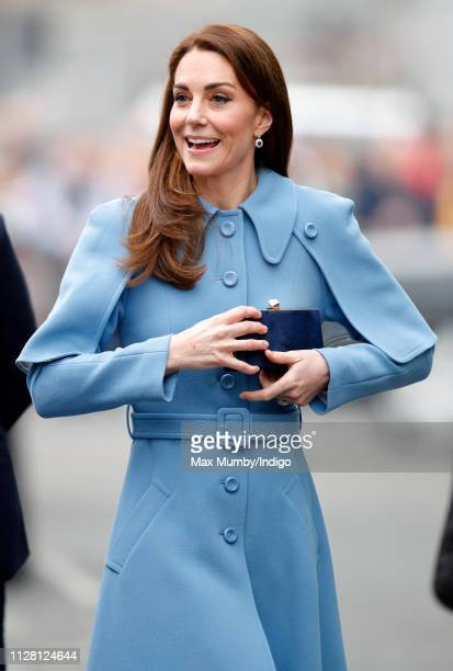 Catherine, Duchess of Cambridge visits CineMagic at the Braid Arts Centre on February 28, 2019 in Ballymena, Northern Ireland. Prince William last...