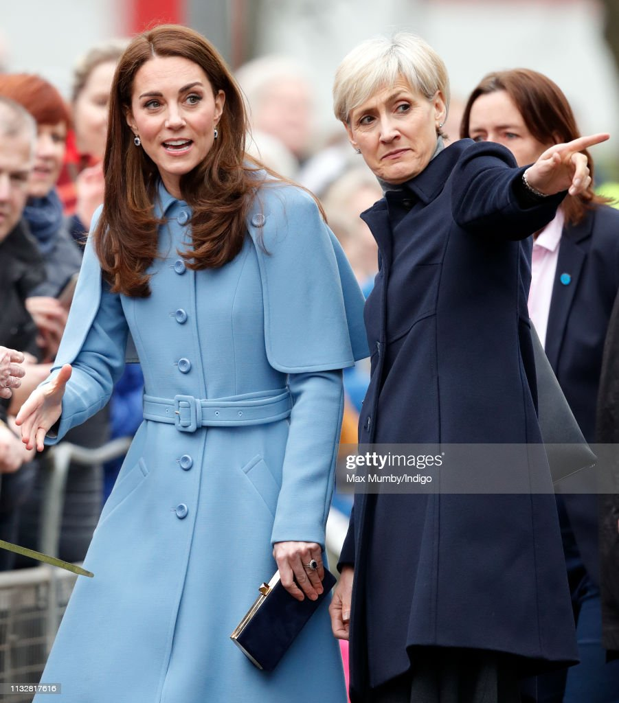 Duke And Duchess Of Cambridge Visit Northern Ireland - Day Two : Photo d'actualité