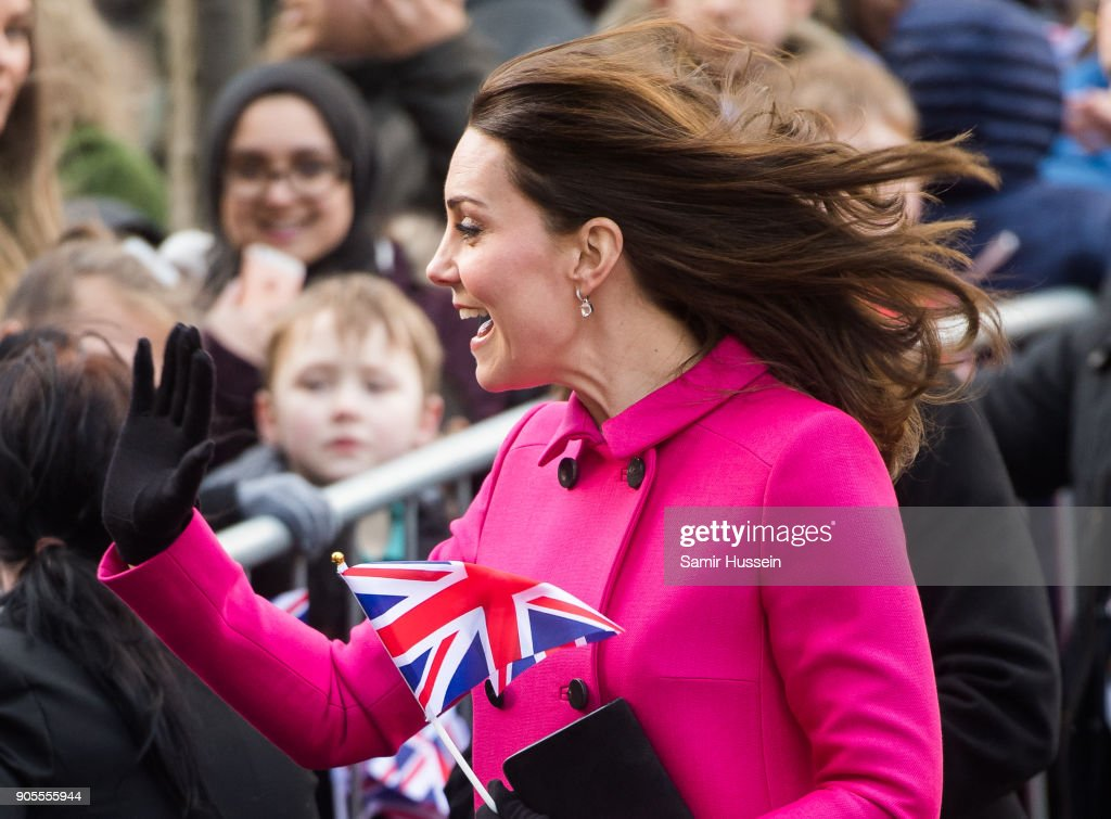 Duke and Duchess of Cambridge visit Coventry