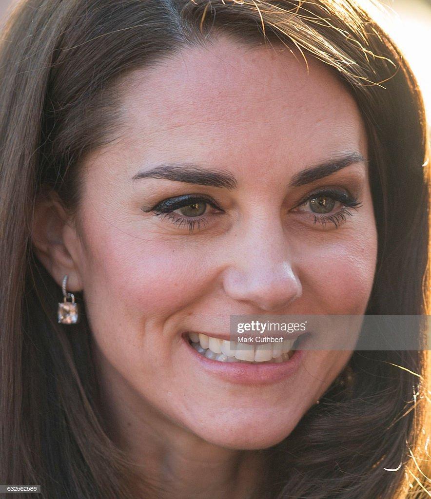 The Duchess of Cambridge Visits East Anglia's Children's Hospice At Quidenham : News Photo
