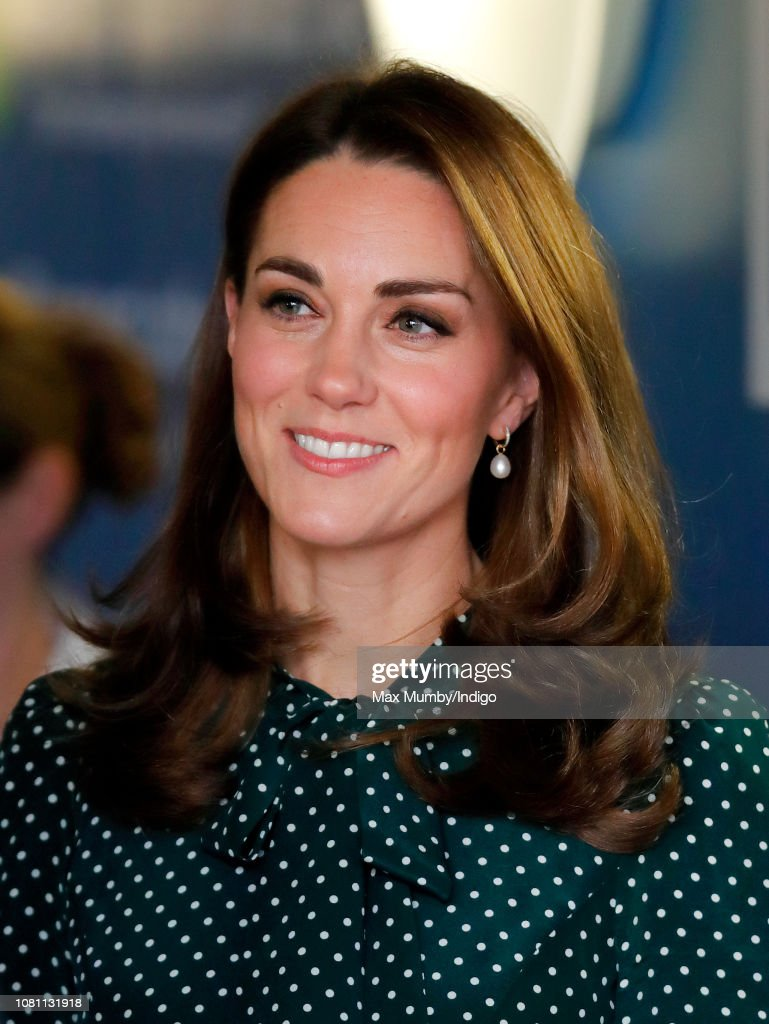 The Duke & Duchess Of Cambridge Visit Evelina London And The Passage : News Photo