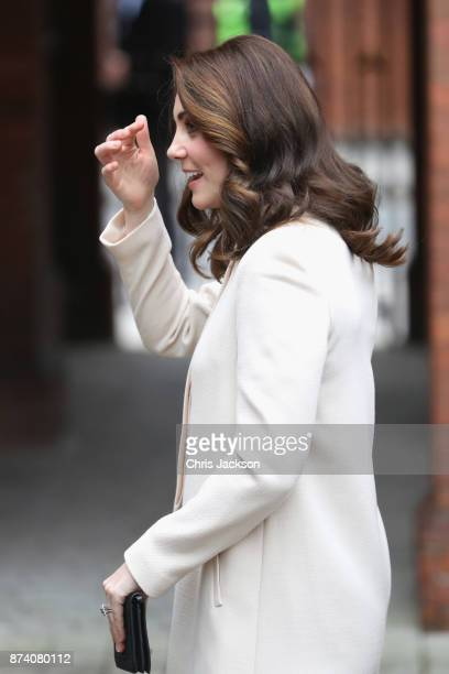 Catherine Duchess of Cambridge visits Family Action at Hornsey Road Children's Centre on November 14 2017 in London England