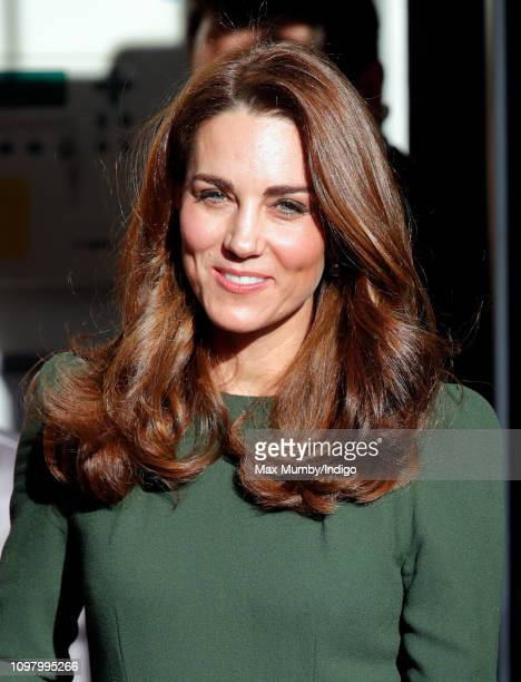 Catherine Duchess of Cambridge visits Family Action to launch a new national support line on January 22 2019 in Lewisham England Family Action which...