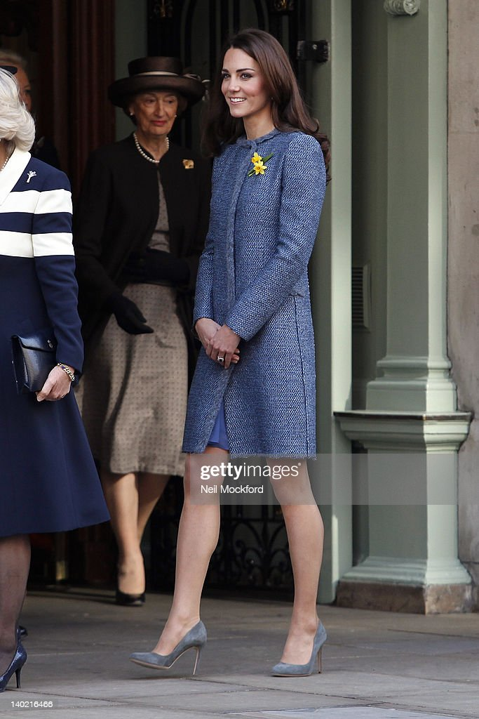 Catherine, Duchess Of Cambridge visits Fortnum and Mason Store on March 1, 2012 in London, England.