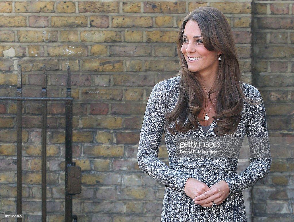 Catherine,  Duchess Of Cambridge Visits Hope House  : News Photo