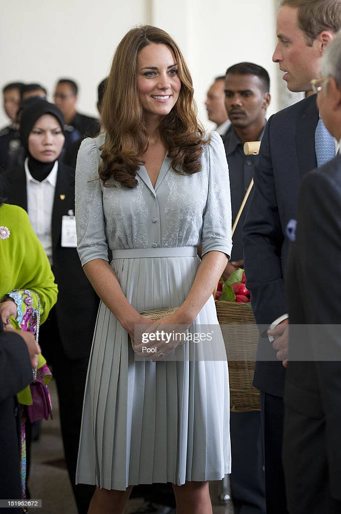 The Duke And Duchess Of Cambridge Tour Southeast Asia - Day 3 : News Photo