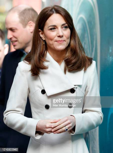 Catherine Duchess of Cambridge visits Jigsaw the National Centre for Youth Mental Health in Ireland which provides vital support to young people aged...