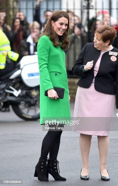 Catherine, Duchess of Cambridge visits Lavender Primary School in support of Place2Be's Children's Mental Health Week 2019 in Enfield on February 5,...