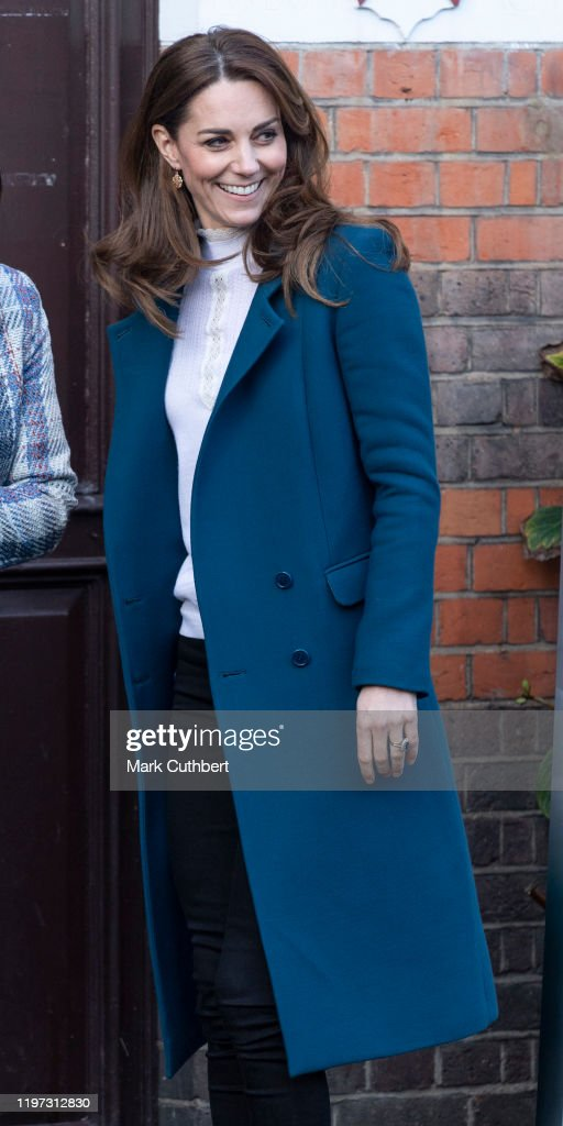 The Duchess Of Cambridge Visits LEYF Stockwell Gardens Nursery & Pre-School : News Photo