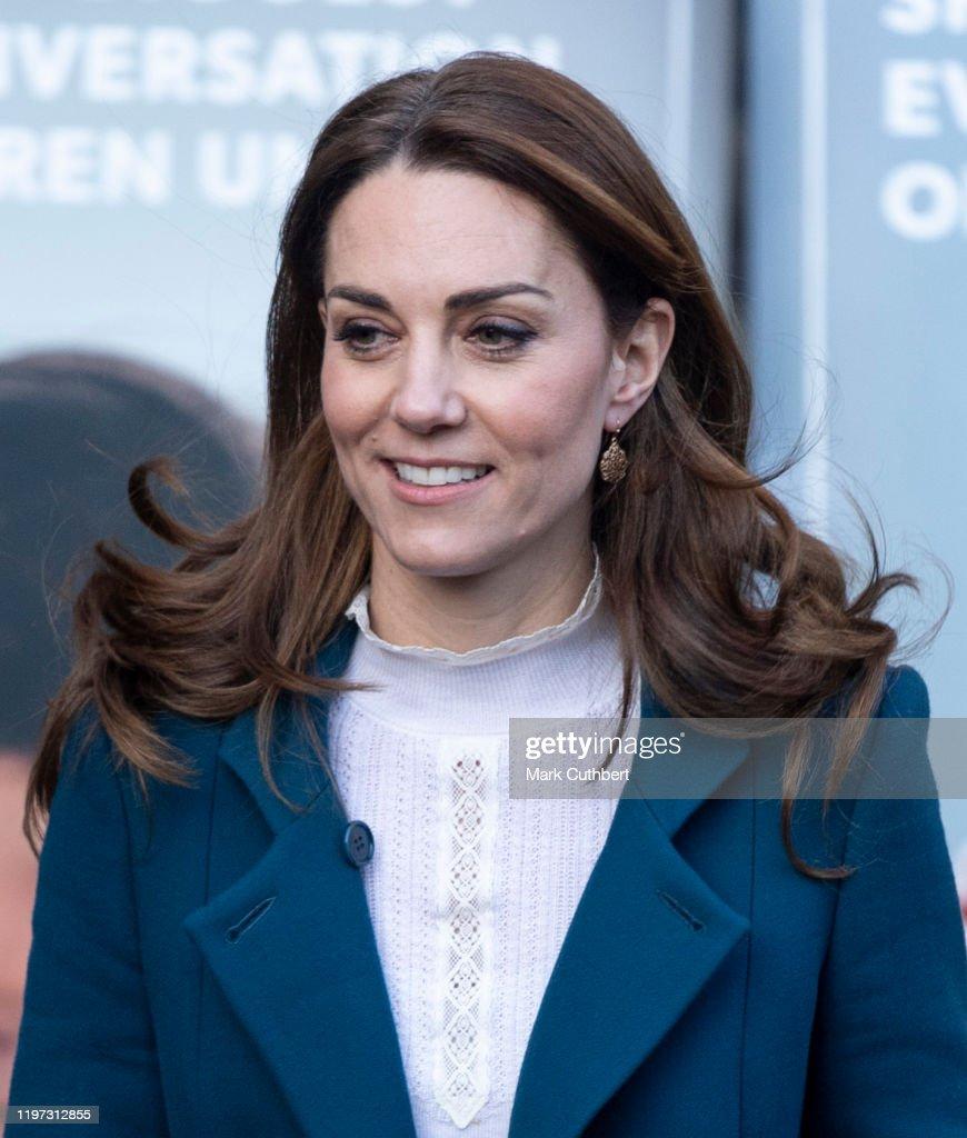 The Duchess Of Cambridge Visits LEYF Stockwell Gardens Nursery & Pre-School : News Photo