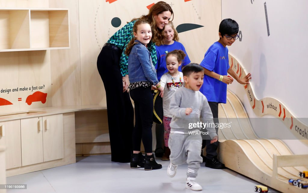 The Duchess Of Cambridge Launches Landmark UK-Wide Survey On Early Childhood - Day One : Fotografia de notícias