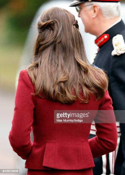 Catherine Duchess of Cambridge visits MIST a child and adolescent mental health project part of Action for Children which supports vulnerable...