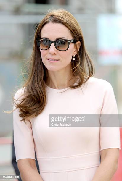 Catherine Duchess of Cambridge visits Nansledan a 218hectare site that will provide future business and housing for the local area on September 1...