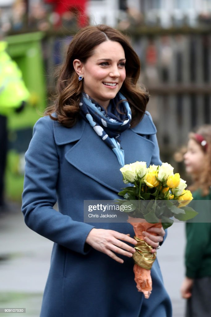 The Duchess Of Cambridge Launch's Mental Health Programme For Schools