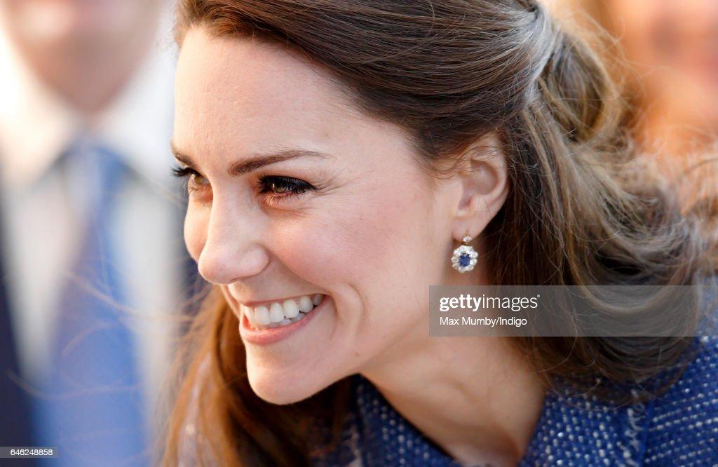 The Duchess Of Cambridge Visits Ronald McDonald House Evelina London : News Photo