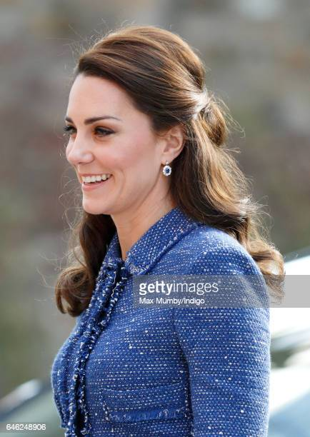 Catherine Duchess of Cambridge visits Ronald McDonald House Evelina London to officially open the new 'home away from home' accommodation for the...