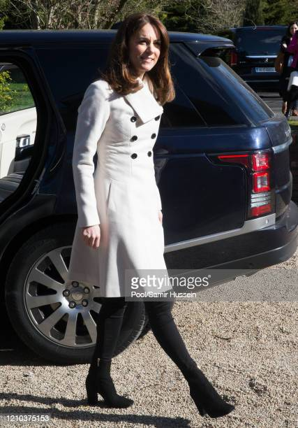 Catherine, Duchess of Cambridge visits Savannah House, a residential facility run by charity Extern, in County Meath, north of Dublin on March 4, 2020
