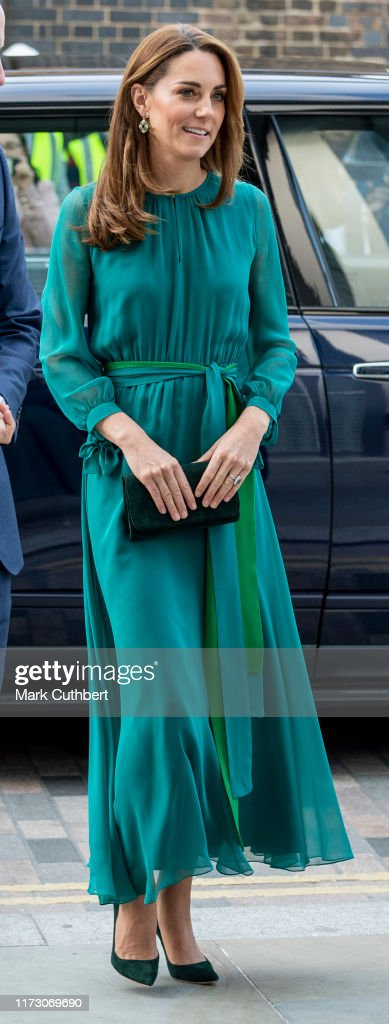 The Duke And Duchess Of Cambridge Visit The Aga Khan Centre : News Photo