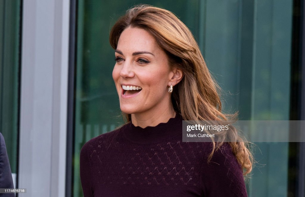 The Duchess Of Cambridge Visits The Angela Marmont Centre For UK Biodiversity : News Photo