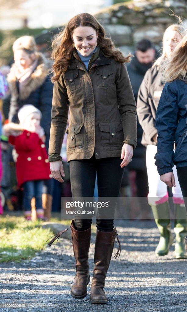 The Duchess Of Cambridge Visits Northen Ireland : News Photo
