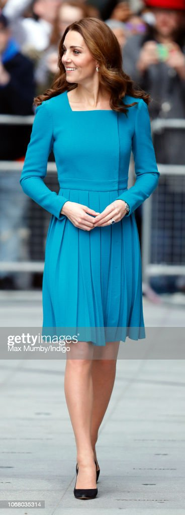 The Duke and Duchess of Cambridge Visit The BBC : News Photo