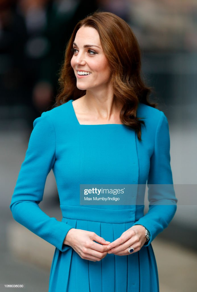 The Duke and Duchess of Cambridge Visit The BBC : News Photo